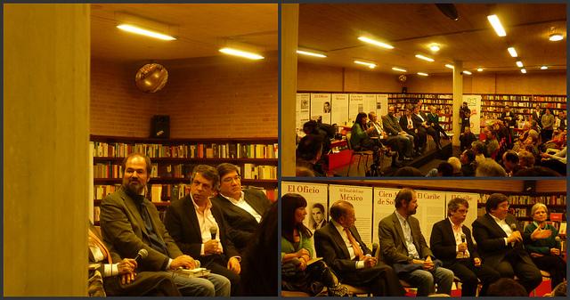 Presentación del libro Gabo: periodista en Bogotá. (Fotos: Pablo Vilcachagua)