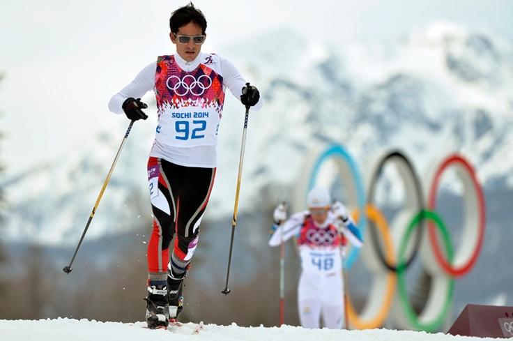 Roberto Carcelén en su participación en Sochi 2014. (Foto: AFP)