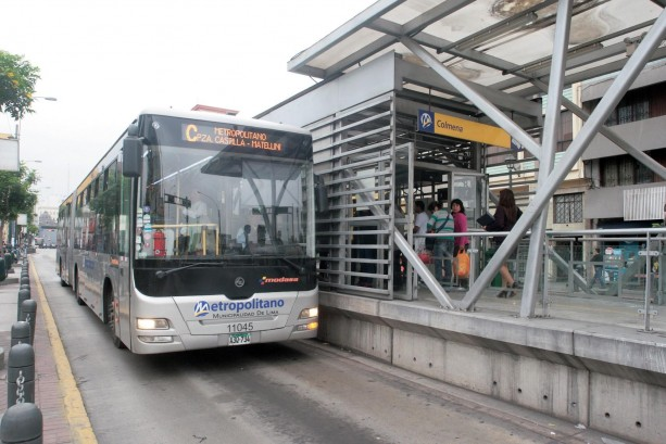 Estación del Metropolitano. (Foto: Diego Miranda / Tempus Noticias)