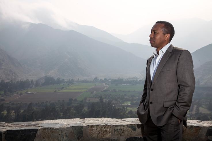 El alcalde de Cieneguilla, Emilio Chávez Huaringa. (Foto: Augusto Escribens / Al Este)
