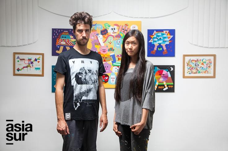 La exposición Nómadas se puede ver hasta el 23 de febrero en la Galería Paraíso. (Foto: Augusto Escribens / Asia Sur)
