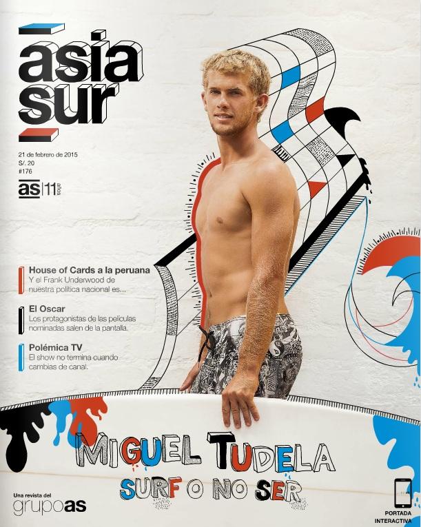 Portada de la revista Asia Sur N° 176 (Foto: Augusto Escribens / Intervención: Sissy Junek)